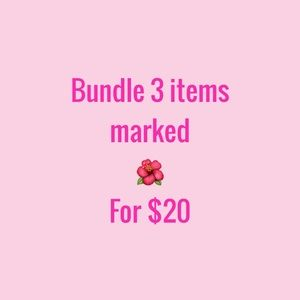🌺🌺3 for $20 Sale🌺🌺